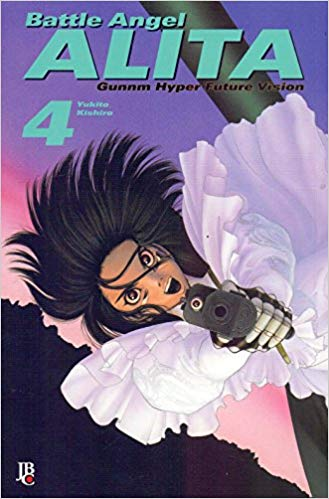 Gunnm Battle Angel Alita 9
