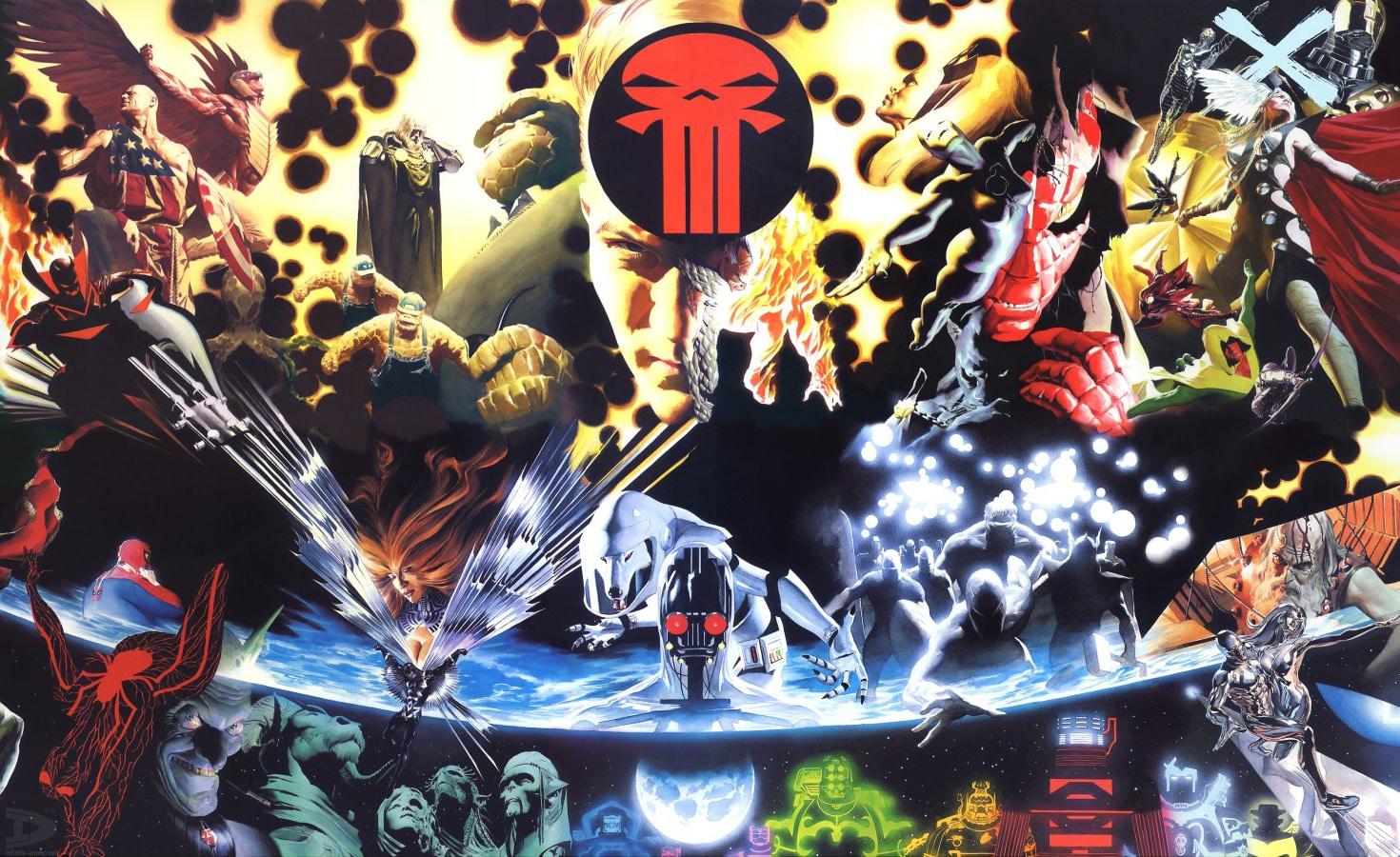 Terra X (1999) – Baú de HQs