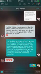 """Zack Snyder ainda não viu """"Liga da Justiça"""", e se desculpa por não ter terminado o filme 1"""