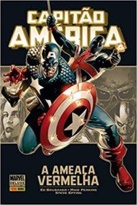 Capitão América Marvel Deluxe - Guia de Leitura 2