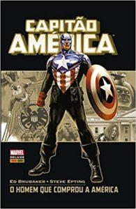Capitão América Marvel Deluxe - Guia de Leitura 5