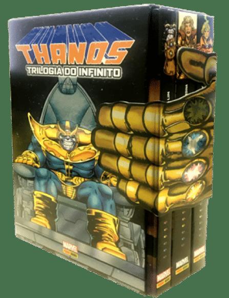 Panini inicia a pré-venda do box Thanos: Trilogia do Infinito 2