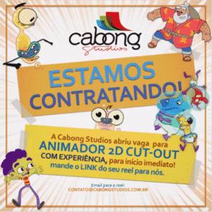 Cabong Studios abre vaga para animadores em Curitiba 2