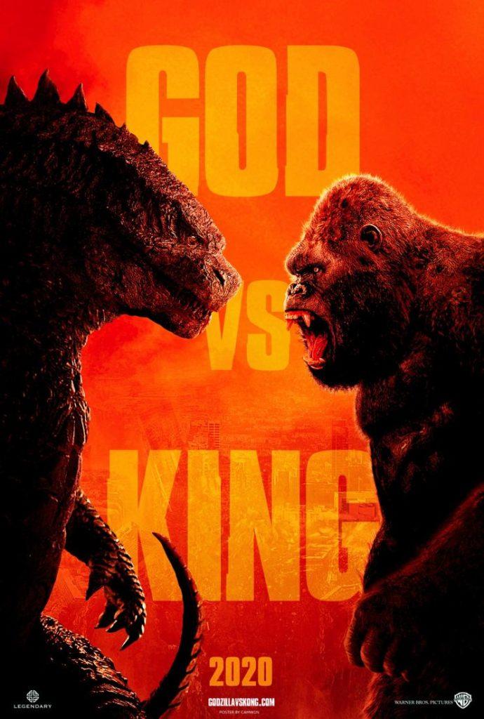 Godzilla vs. Kong tem o início das filmagens anunciado 2