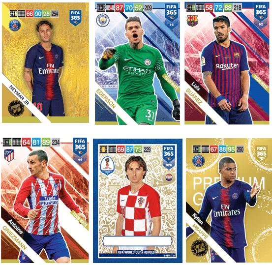 Panini aposta nos maiores e melhores times e atletas do mundo em nova coleção de cards 2