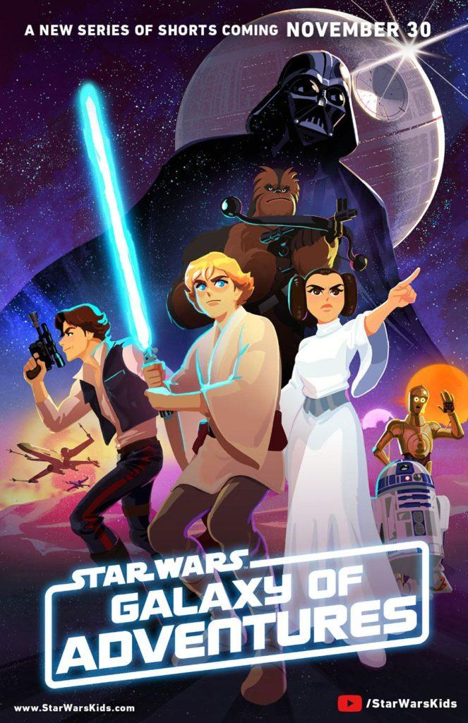 Disney aposta numa abordagem infantil para a série clássica de Star Wars 3