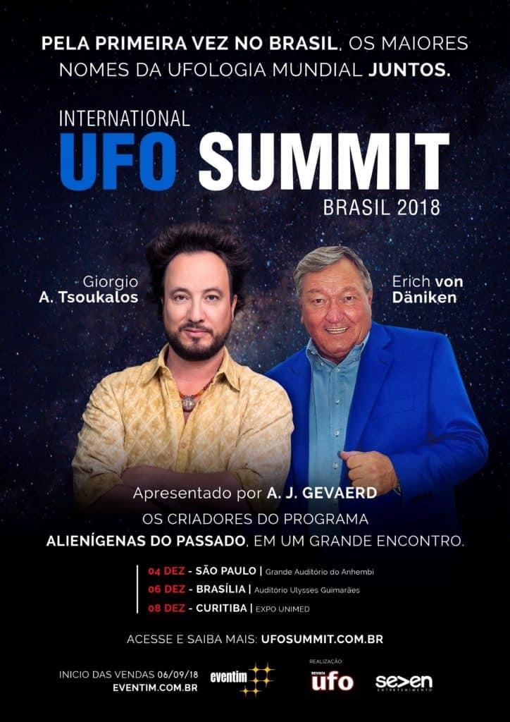 Giorgio Tsoukalos e Erich von Däniken vêm ao Brasil propor que a história da humanidade seja recontada 5