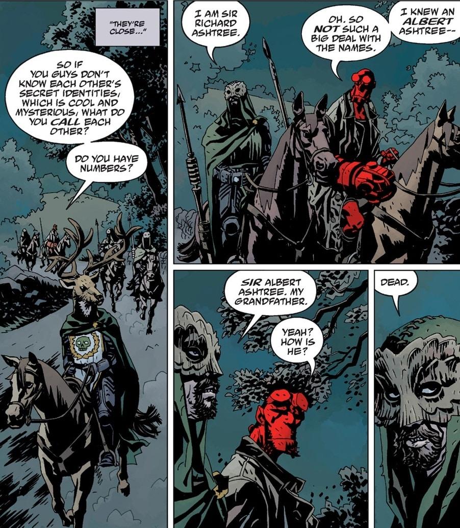 Criador de Hellboy, Mike Mignola fala sobre o Reboot e sua fidelidade as Hq´s 1