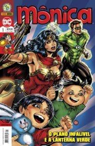 Após lançamento na CCXP, Panini lança na loja online publicações do crossover entre Turma da Mônica e Liga da Justiça 14