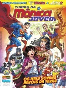Após lançamento na CCXP, Panini lança na loja online publicações do crossover entre Turma da Mônica e Liga da Justiça 12