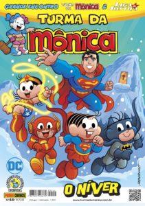Após lançamento na CCXP, Panini lança na loja online publicações do crossover entre Turma da Mônica e Liga da Justiça 8