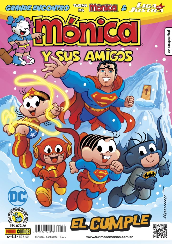 Após lançamento na CCXP, Panini lança na loja online publicações do crossover entre Turma da Mônica e Liga da Justiça 9