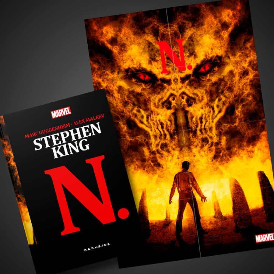 N. - Editora Darkside Lança Graphic Novel de Stephen King 1
