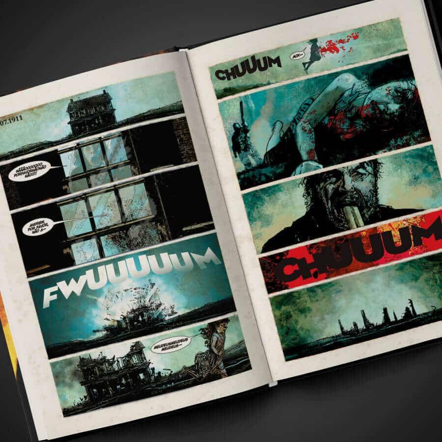 N. - Editora Darkside Lança Graphic Novel de Stephen King 2