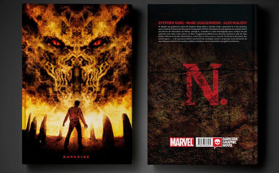 N. - Editora Darkside Lança Graphic Novel de Stephen King 3