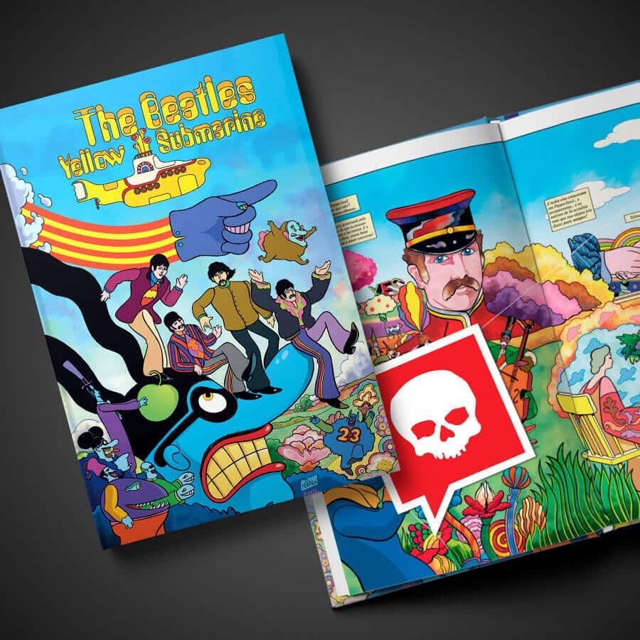 The Beatles - Yellow Submarine: Editora Darkside lança Graphic Novel celebrando os 50 anos do filme 1