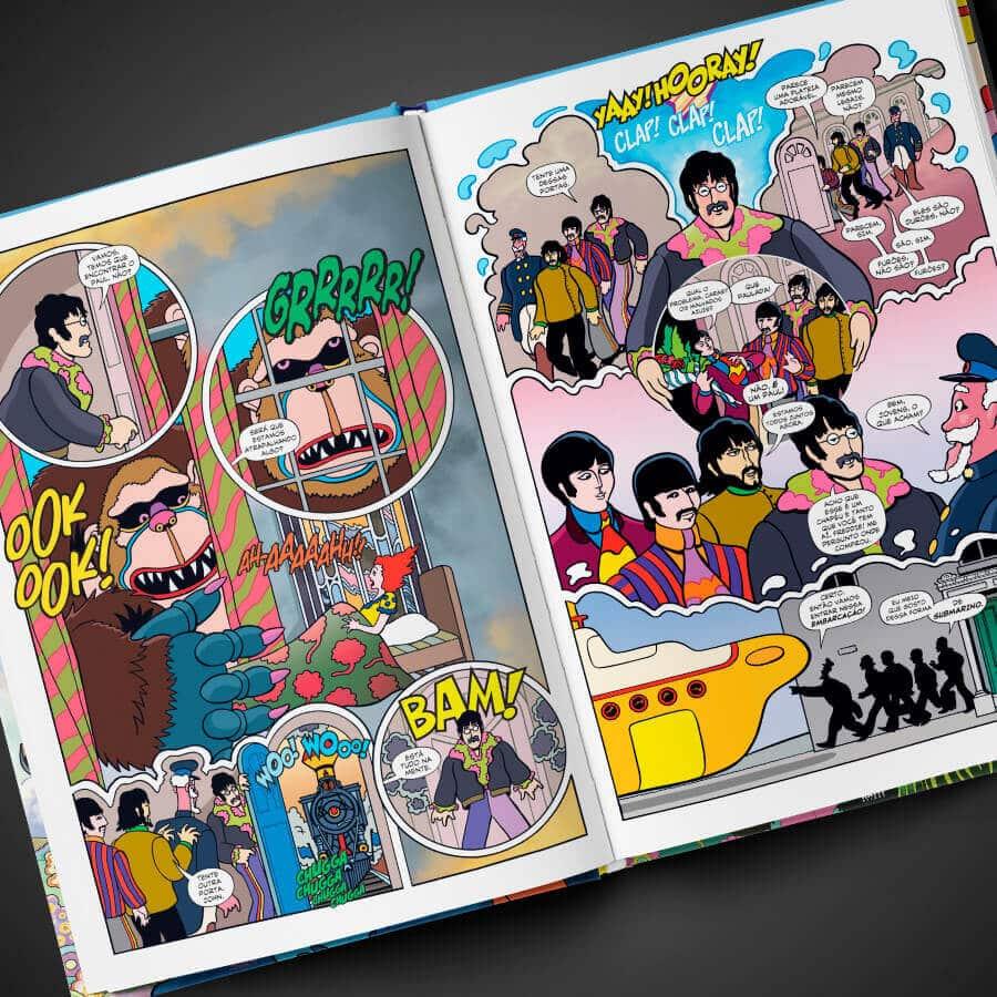 The Beatles - Yellow Submarine: Editora Darkside lança Graphic Novel celebrando os 50 anos do filme 2