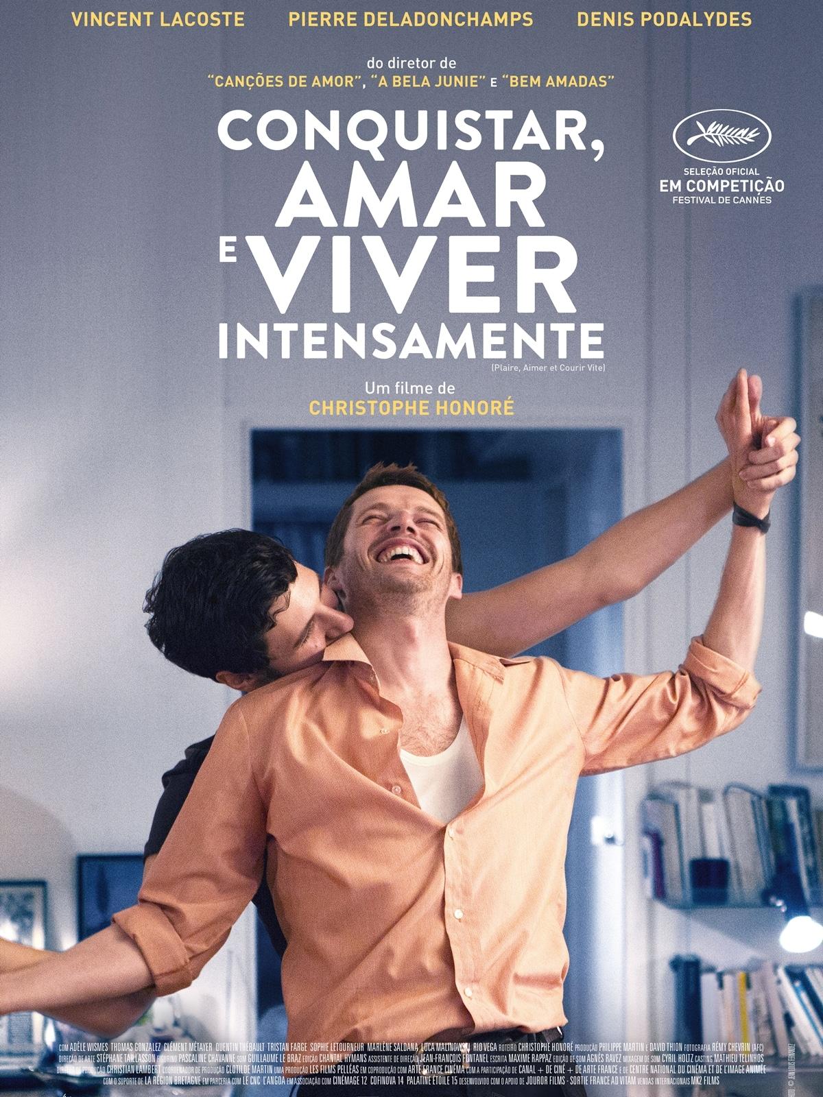 Conquistar, Amar e Viver Intensamente - Premiado como melhor filme estrangeiro no Festival Mix Brasil 1