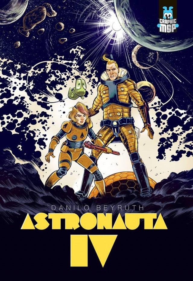 Com lançamento na CCXP 2018, Astronauta – Entropia de Danilo Beyruth chega às bancas e livrarias 3