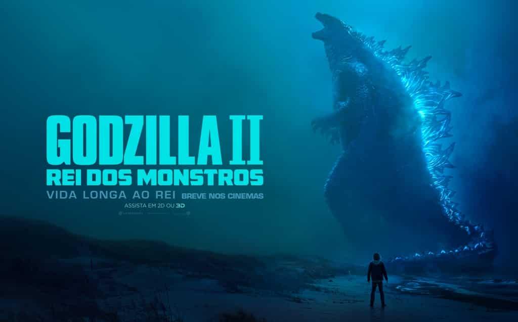 Godzilla II – Rei dos Montros ganha novo trailer e poster oficial