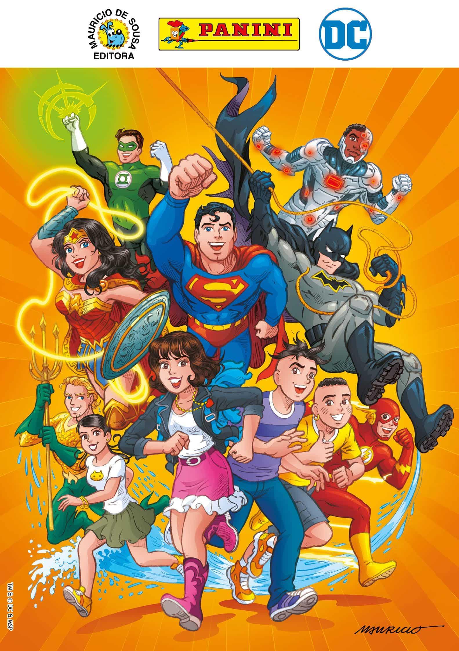 Após lançamento na CCXP, Panini lança na loja online publicações do crossover entre Turma da Mônica e Liga da Justiça
