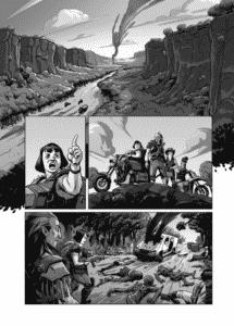 Série nacional de quadrinhos pós-apocalípticos QUAD tem lançamento de seu quarto volume na CCXP 2018 3