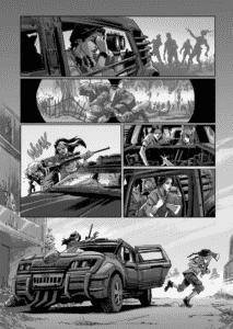 Série nacional de quadrinhos pós-apocalípticos QUAD tem lançamento de seu quarto volume na CCXP 2018 5