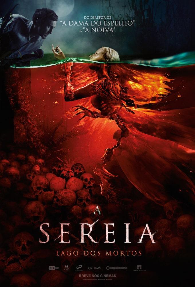 Terror A Sereia – Lago dos Mortos ganha pôster sombrio e trailer 2