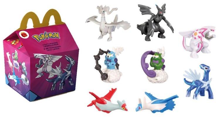 McDonald's divulga Pokémon como brindes de dezembro do McLanche Feliz