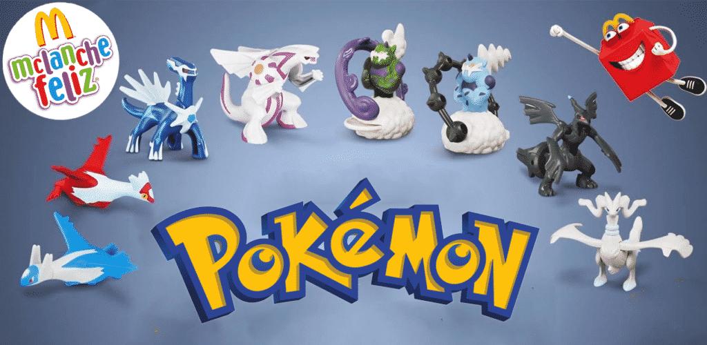 McDonald's divulga Pokémon como brindes de dezembro do McLanche Feliz 2
