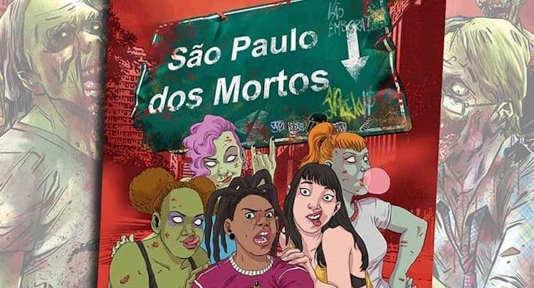 Os mortos invadem novamente as ruas de São Paulo nos quadrinhos