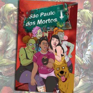 Os mortos invadem novamente as ruas de São Paulo nos quadrinhos 3