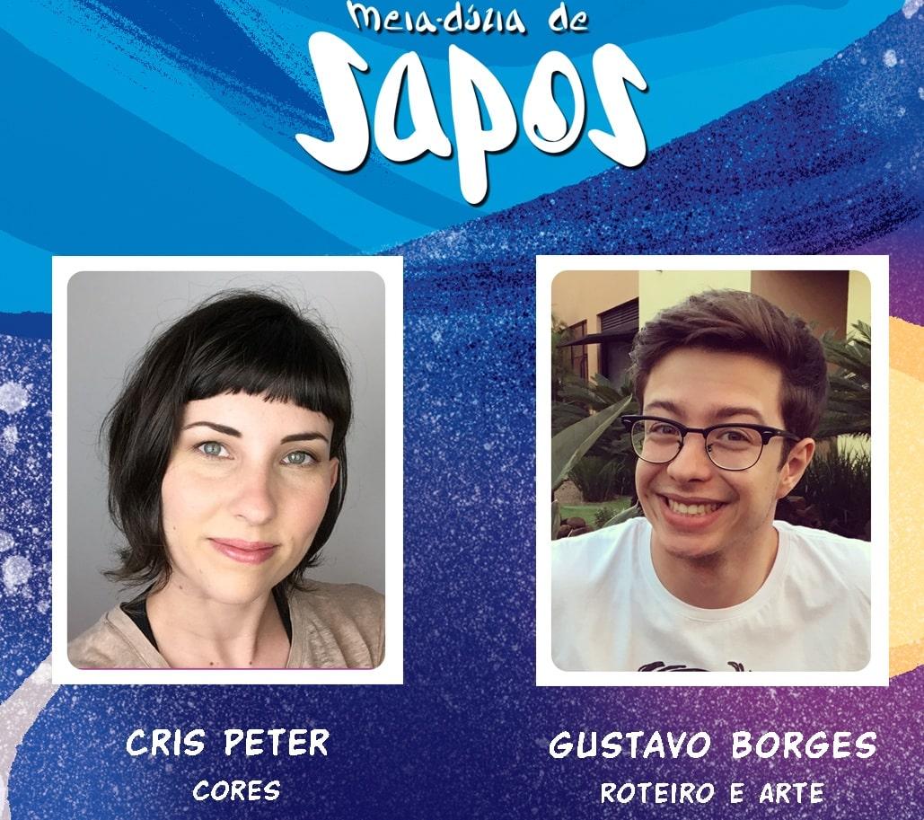 Cris Peter, Gustavo Borges e Meia-dúzia de sapos 10