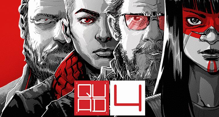 Série nacional de quadrinhos pós-apocalípticos QUAD tem lançamento de seu quarto volume na CCXP 2018