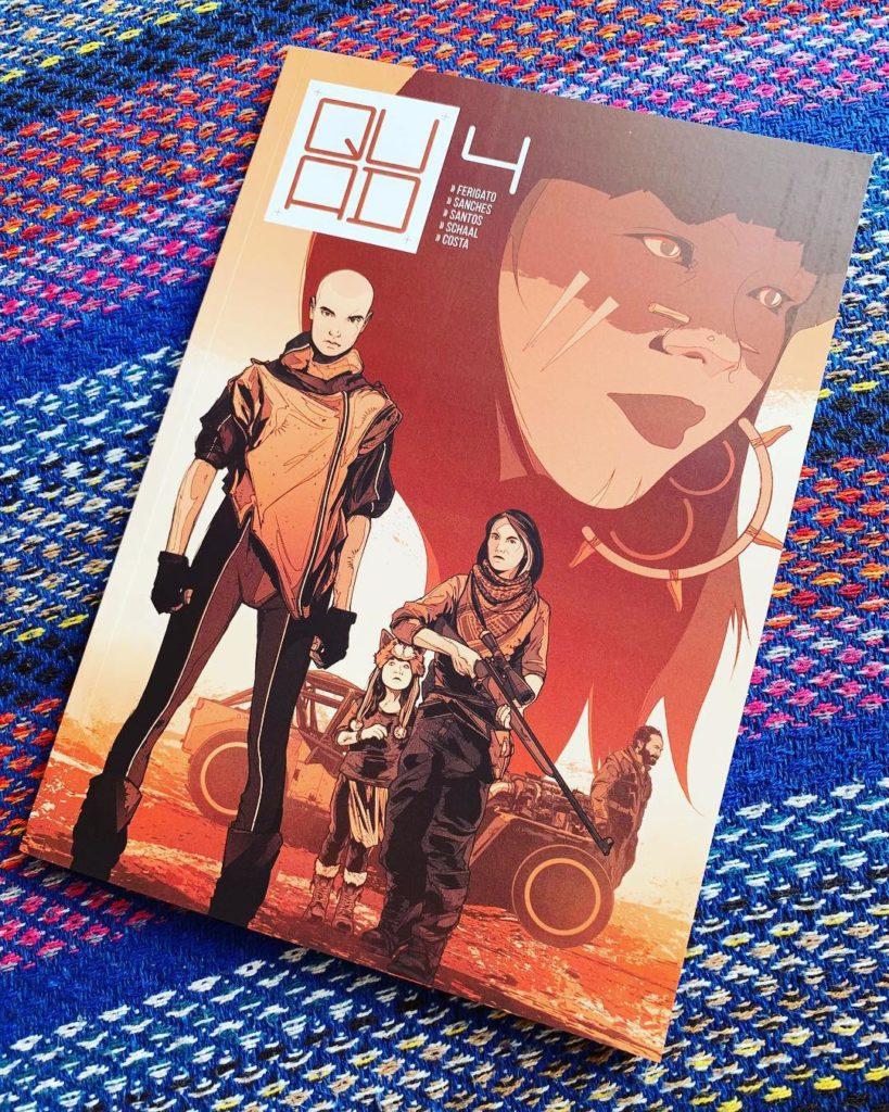 Série nacional de quadrinhos pós-apocalípticos QUAD tem lançamento de seu quarto volume na CCXP 2018 6