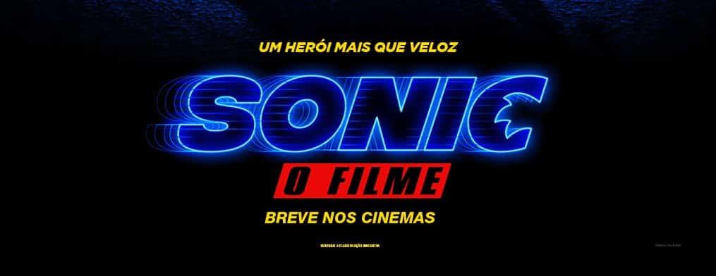 Sonic – O Filme: Paramount Pictures Divulga Cartaz oficial