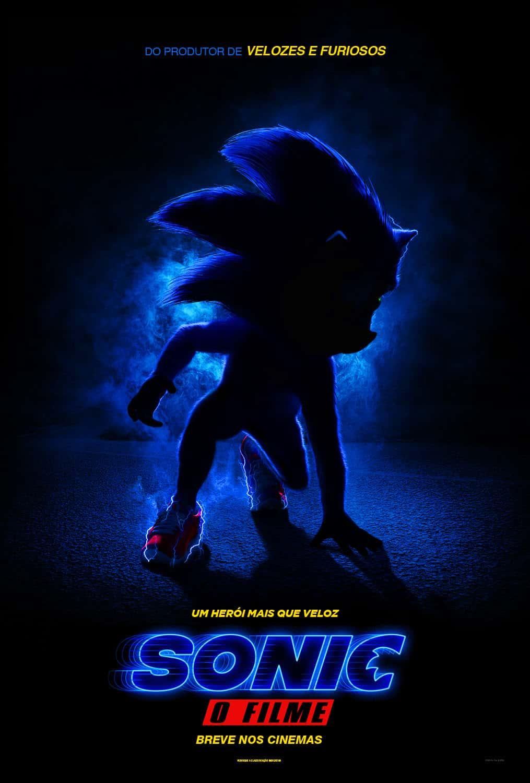 Sonic - O Filme: Paramount Pictures Divulga Cartaz oficial 1