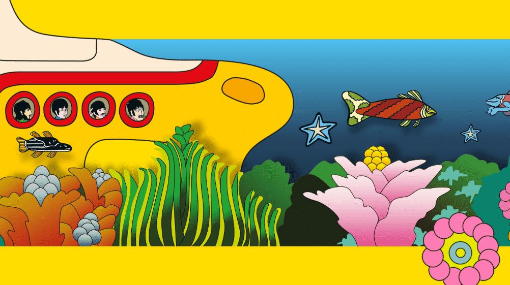 The Beatles – Yellow Submarine: Editora Darkside lança Graphic Novel celebrando os 50 anos do filme