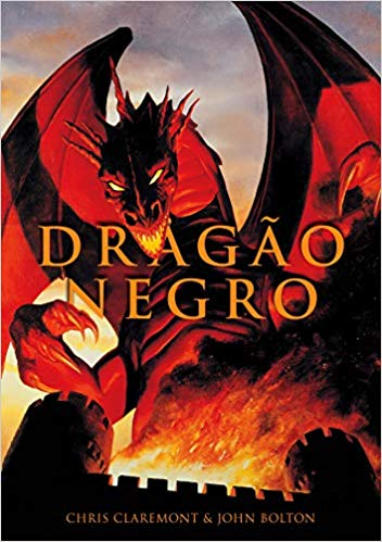 Dragão Negro - Novo Lançamento da editora Pipoca e Nanquim em Pré Venda 3