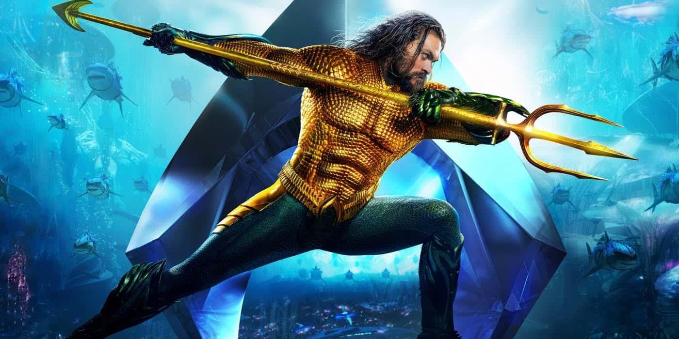 Aquaman acumula R$ 135,5 milhões e se torna a maior bilheteria da Warner Bros. Pictures na história do país