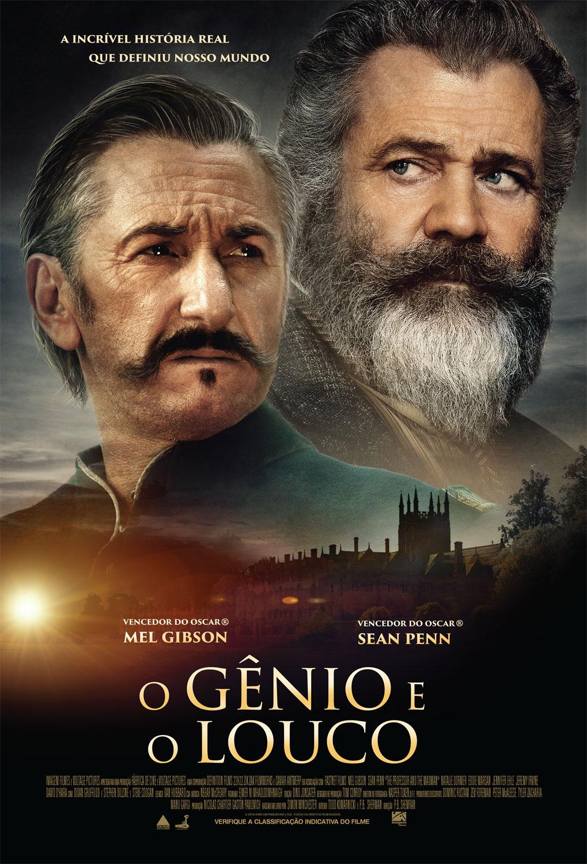 Confira o trailer de O Gênio e o Louco, com Mel Gibson e Sean Penn 1