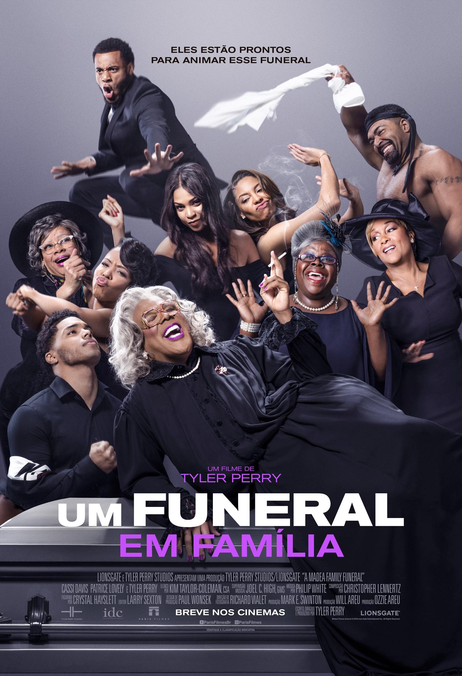 Madea está de volta na comédia Um Funeral em Família, que estreia em março