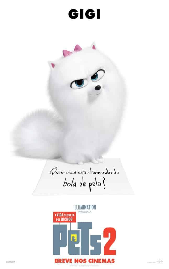 Novo trailer individual de Pets: A Vida Secreta dos Bichos 2 tem Chloe e Gigi e aulas de comportamento felino 2