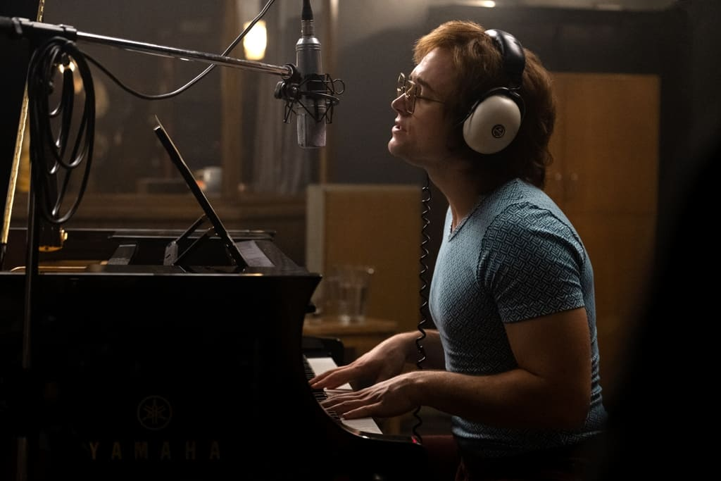 Rocketman - Veja Novas Imagens de Taron Egerton com Elton John 2