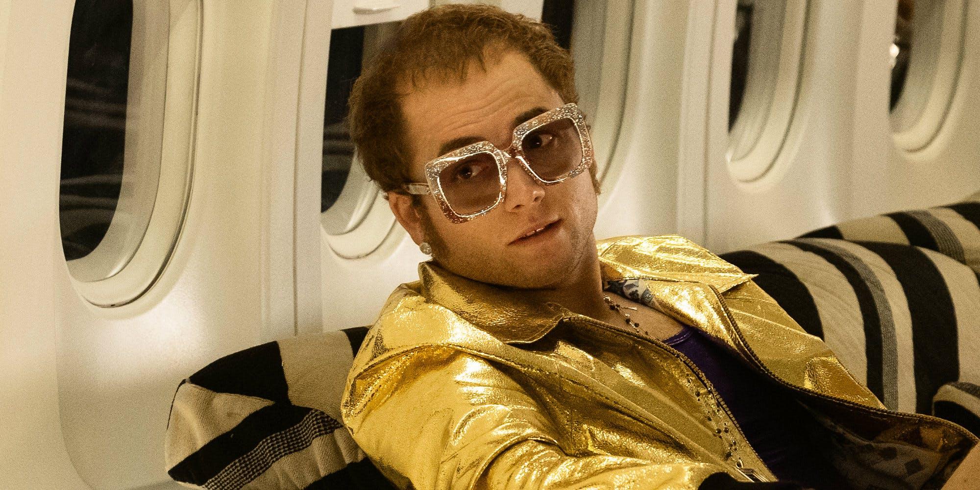 Rocketman – Veja Novas Imagens de Taron Egerton com Elton John