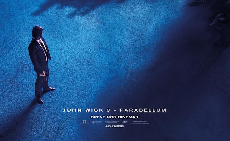 Veja os pôsteres nacionais de John Wick 3 – Parabellum
