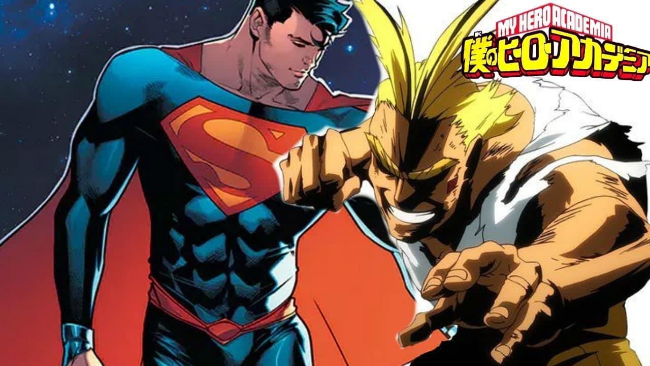 Superman vs All Might: terá chegado a era dos mangás?