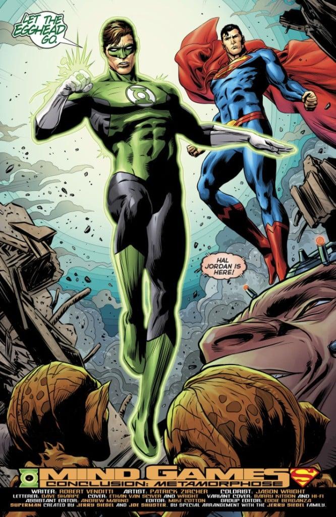 Superman & Lanterna Verde : Simplicidade e uma boa história 2