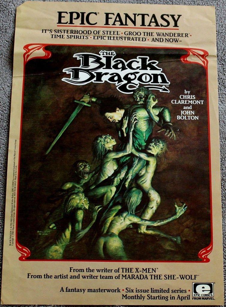 Dragão Negro - Novo Lançamento da editora Pipoca e Nanquim em Pré Venda 2