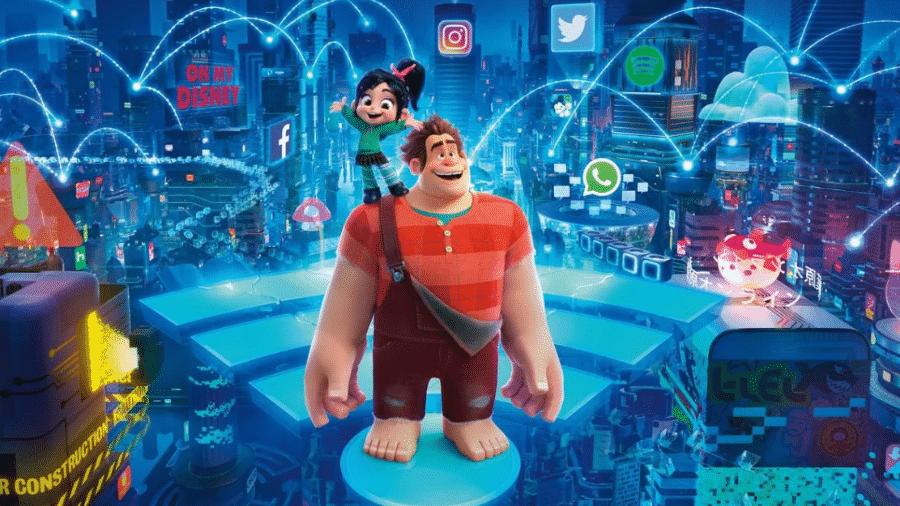 WiFi Ralph: Quebrando a Internet ganha álbum de figurinhas pela Panini